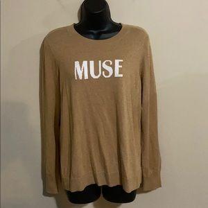 New Court & Rowe Muse Sweater Size Medium
